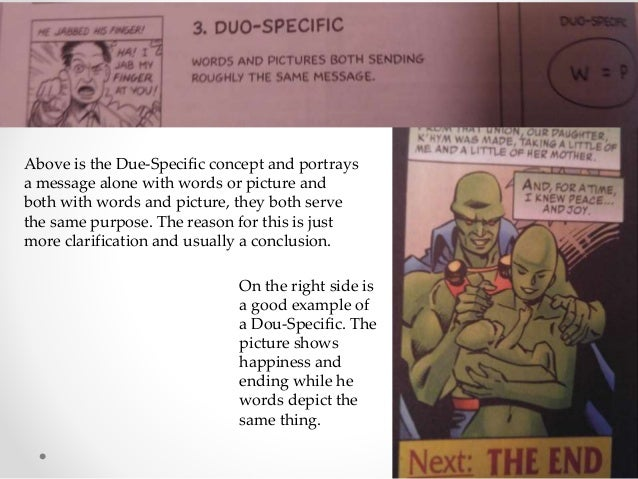 Duo specific Above is the Due-Specific concept and portrays a message alone with words or picture and both with words and ...
