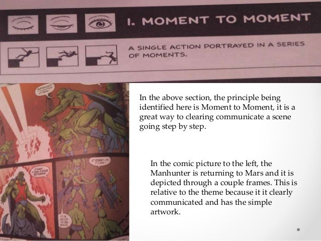 In the above section, the principle being identified here is Moment to Moment, it is a great way to clearing communicate a...