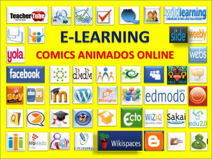 E-LEARNING<br />COMICS ANIMADOS ONLINE<br />