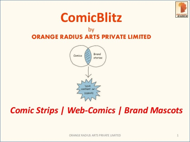 ComicBlitz  by  ORANGE RADIUS ARTS PRIVATE LIMITED  Comic Strips | Web-Comics | Brand Mascots  ORANGE RADIUS ARTS PRIVATE ...