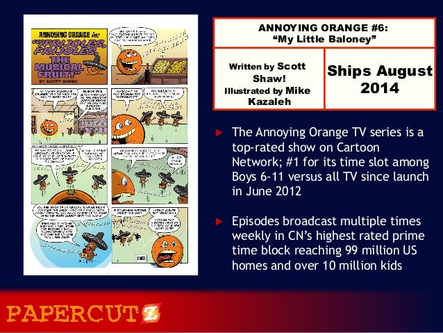 Annoying Orange Vol. 6: My Little Baloney