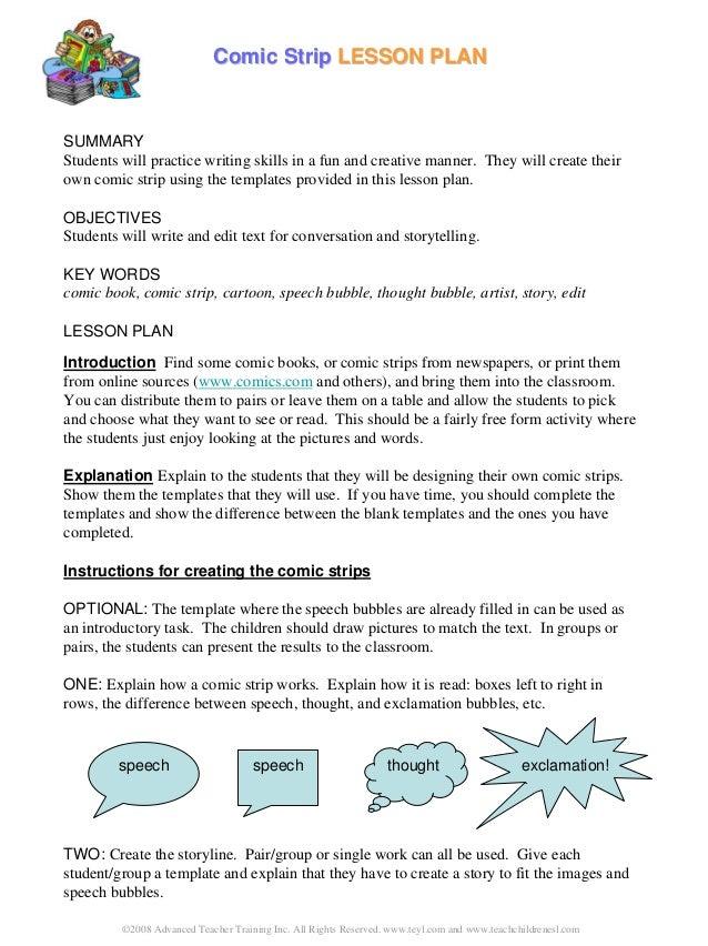 ©2008 Advanced Teacher Training Inc. All Rights Reserved. www.teyl.com and www.teachchildrenesl.com Comic StripComic Strip...