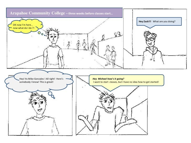 Arapahoe Community College – three weeks before classes start…                                                            ...