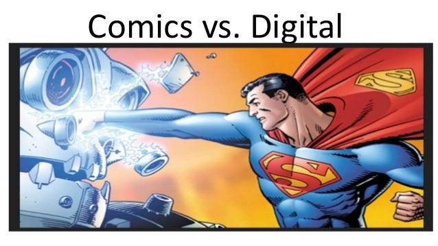 Comics vs. Digital