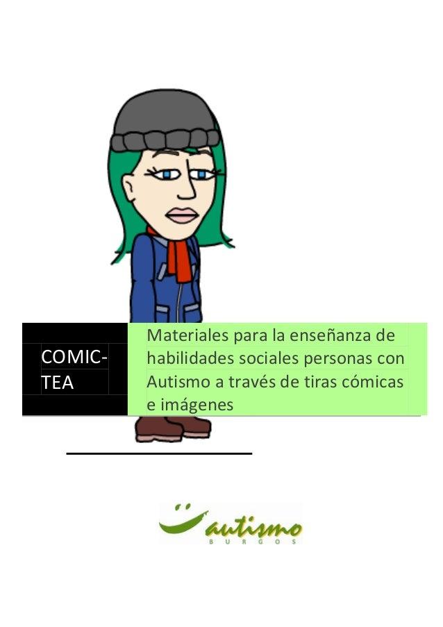 Materiales para la enseñanza deCOMIC-   habilidades sociales personas conTEA      Autismo a través de tiras cómicas       ...