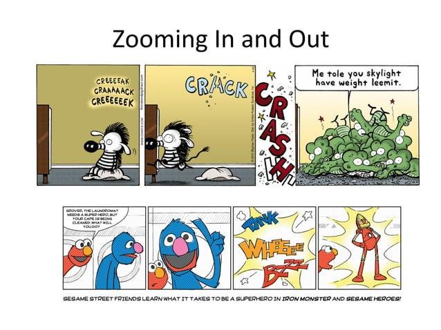 Comic techniques
