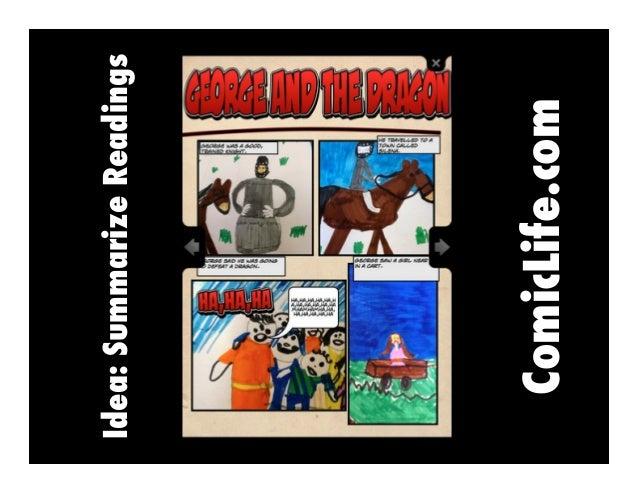 ComicLife.com  Idea: Summarize Readings