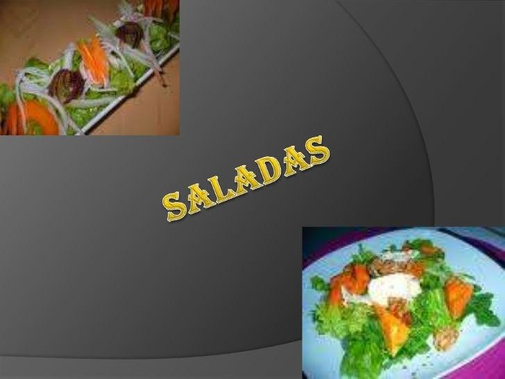 Saladas<br />