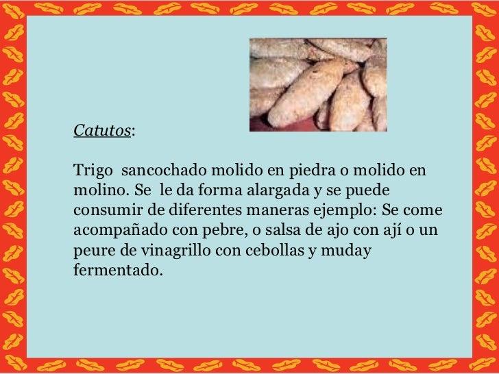 Recetas comidas mapuches faciles