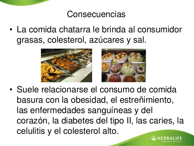 Comida chatarra for Definicion de gastronomia pdf