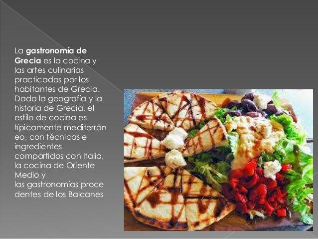 Comida griega for Tecnicas culinarias de la cocina francesa