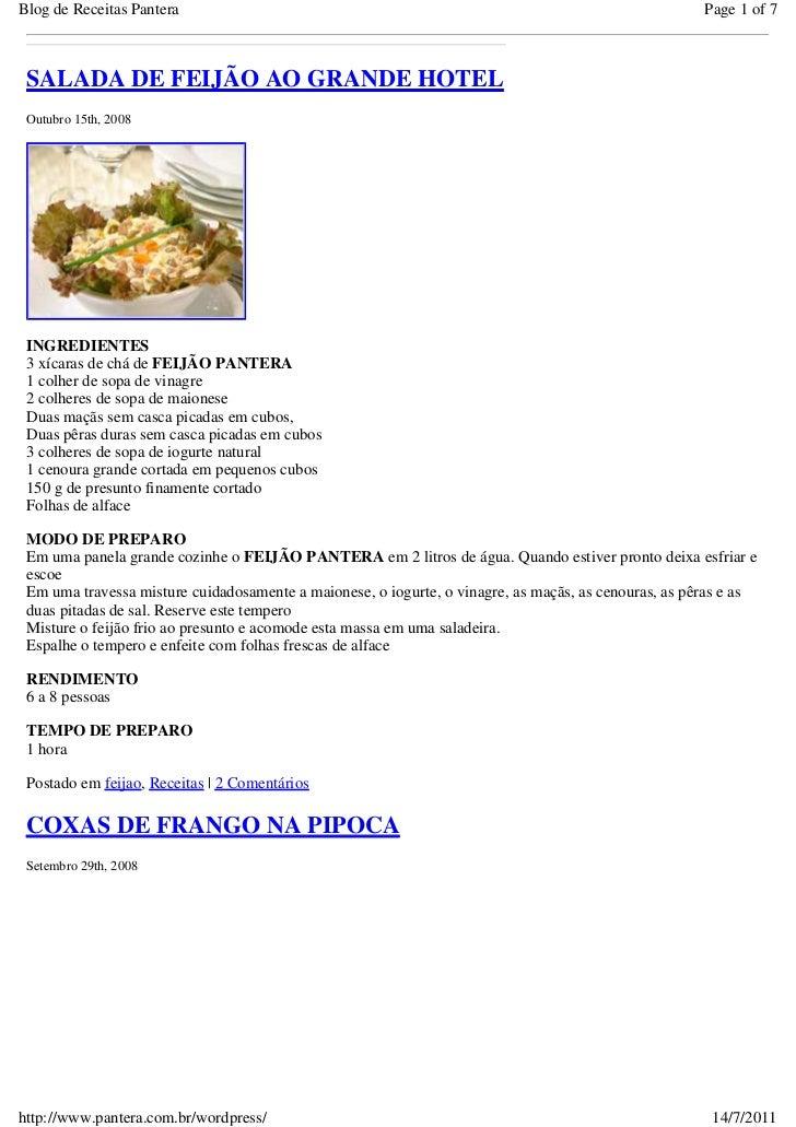 Blog de Receitas Pantera                                                                              Page 1 of 7 SALADA D...
