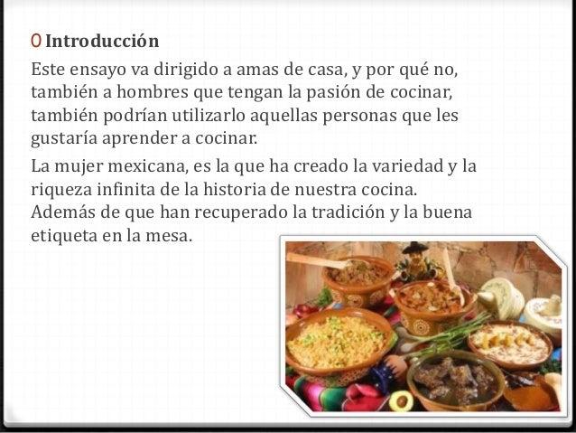 Comida mexicana for Introduccion a la gastronomia pdf