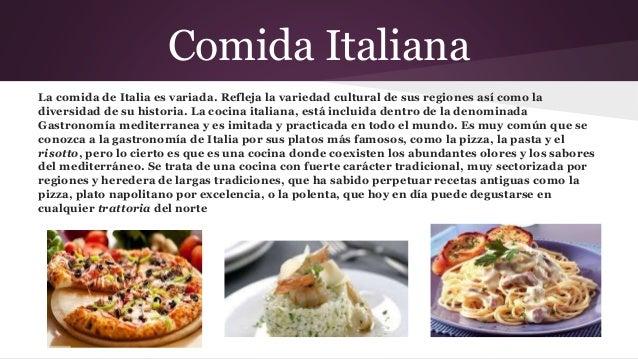 Comidas internacionales for Historia de la gastronomia pdf