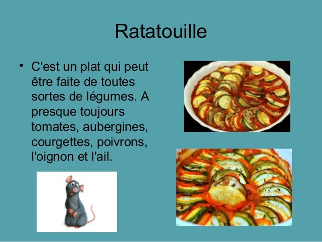 Comidas t picas francesas for Comida nacional de francia