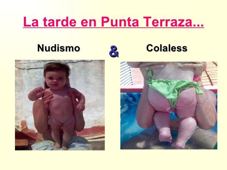 La tarde en Punta Terraza... Nudismo   Colaless &
