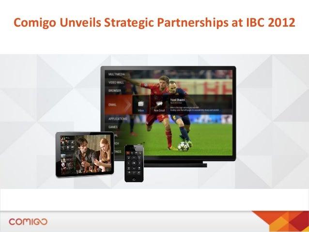 Comigo Unveils Strategic Partnerships at IBC 2012