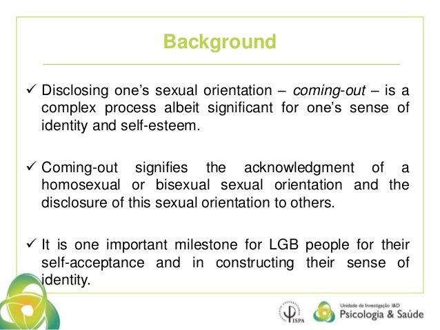 Homosexual people perception regarding