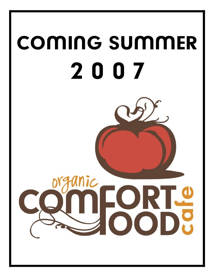 COMING SUMMER    2007