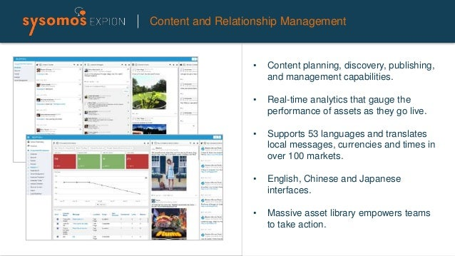 Content and Relationship Management