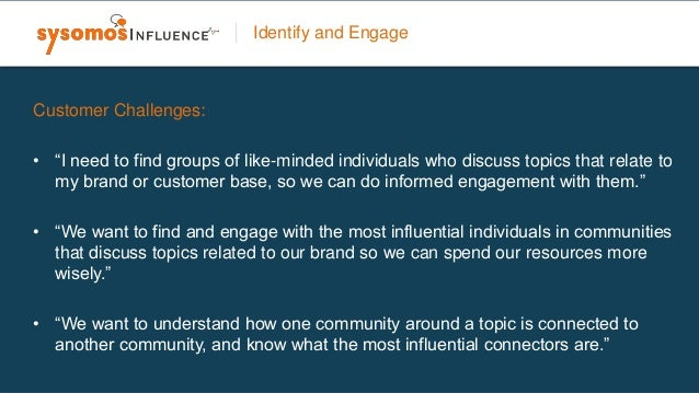 • Conduct detailed analysis on an influencers conversations and activity. • Gain valuable insights on the traits of a comm...
