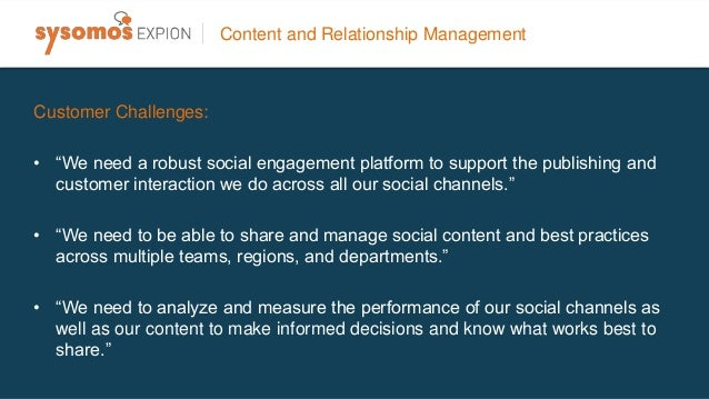 • Content planning, discovery, publishing, and management capabilities. • Real-time analytics that gauge the performance o...