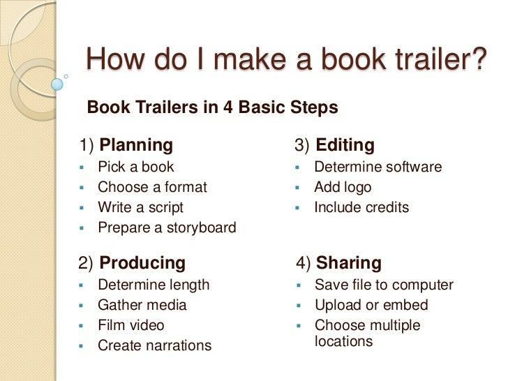 nonfiction book trailers
