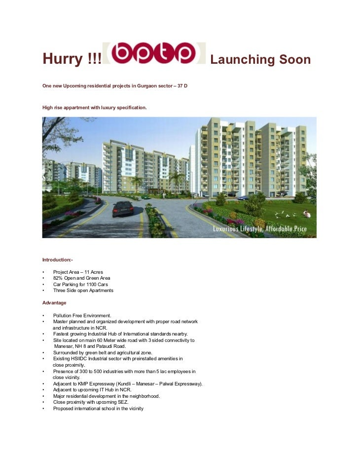 Hurry !!!                                                                  Launching SoonOne new Upcoming residential proj...