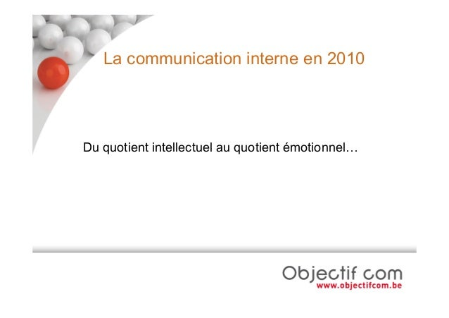 La Communication interne des PME Slide 2