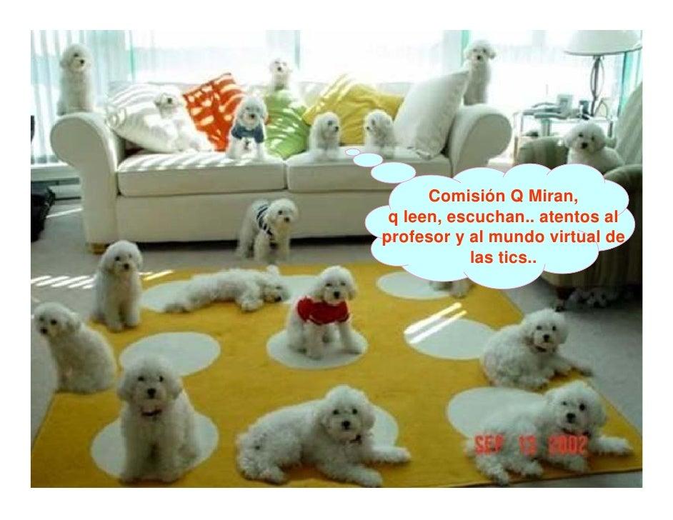 Comisión Q Miran,  q leen, escuchan.. atentos al profesor y al mundo virtual de            las tics..