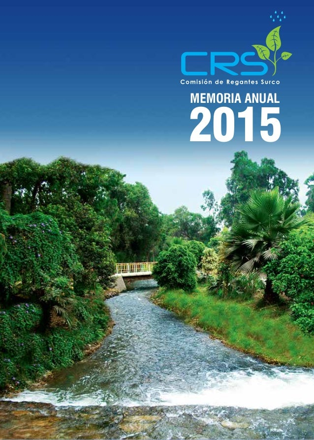 2015 MEMORIA ANUAL