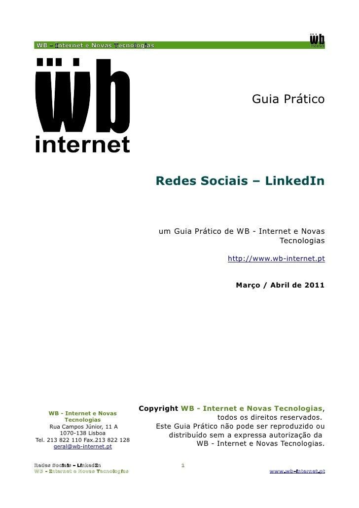 WB - Internet e Novas Tecnologias                                                                  Guia Prático           ...