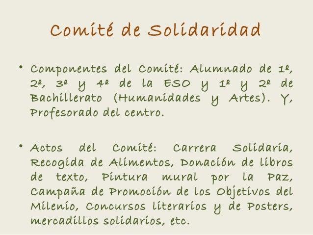 Comité   ies josefina de la torre - curso 2012-2013 Slide 2