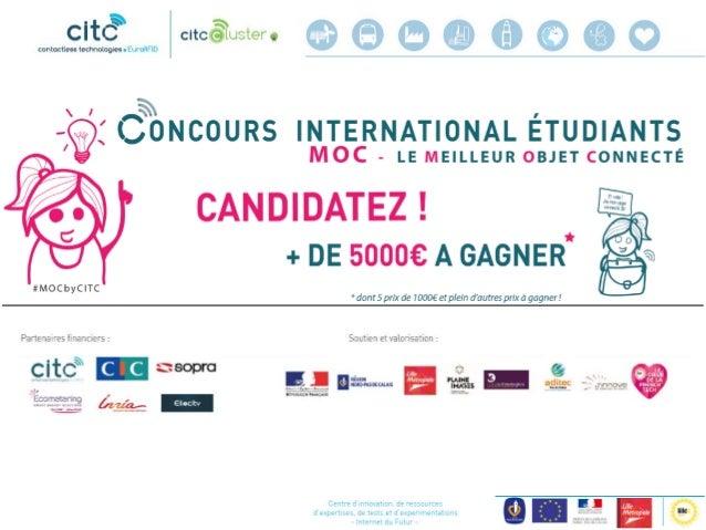 Ordre du jour  Rappels sur le concours #MOC  Les candidatures : généralités l présentation des projets  Grille de notat...