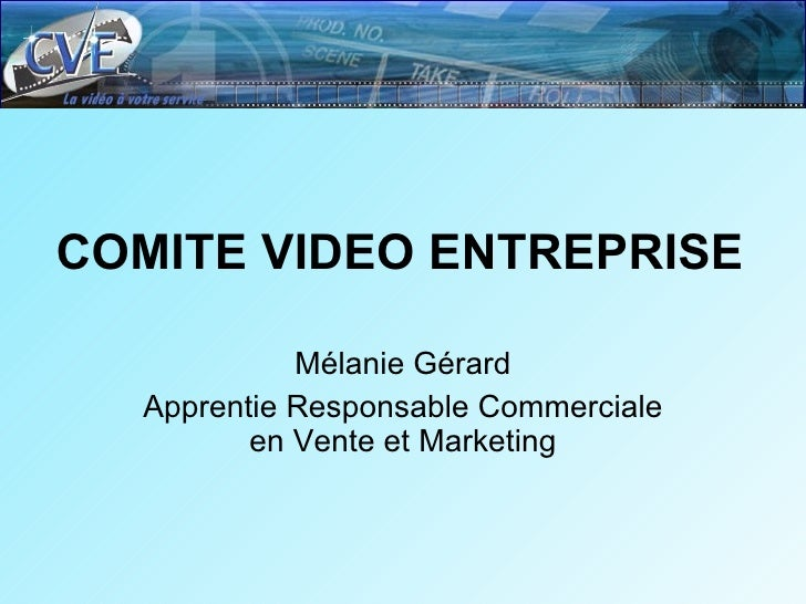 comite video entreprise