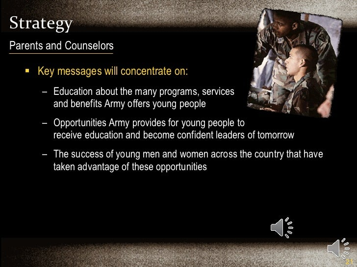 Strategy <ul><li>Key messages will concentrate on: </li></ul><ul><ul><li>Education about the many programs, services  and ...