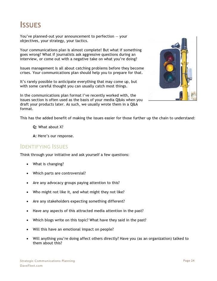 Strategic Communications Planning - A Free eBook