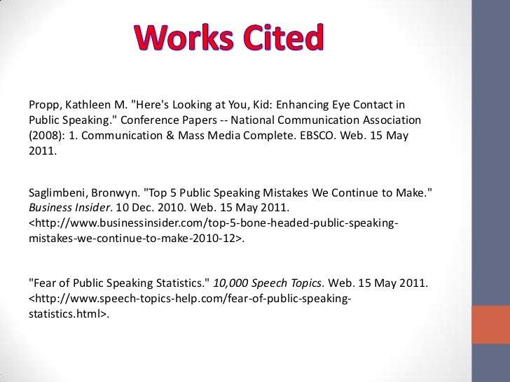 top 10 speech topics