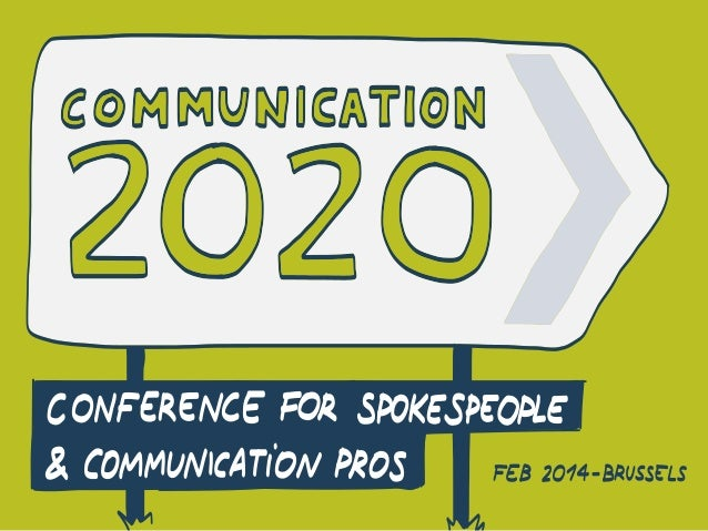 Communication 2020 - Are you ready?