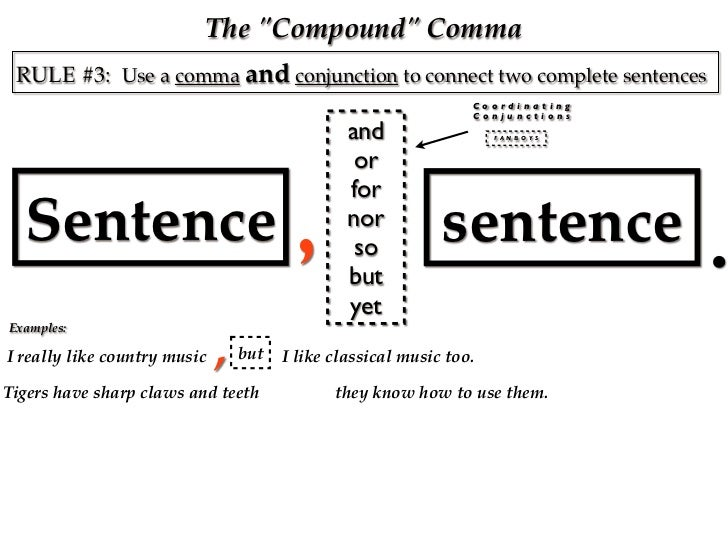 Comma Notes #1