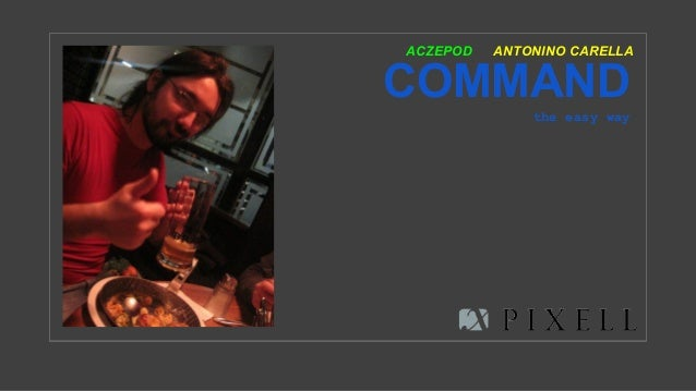 COMMAND the easy way ANTONINO CARELLAACZEPOD