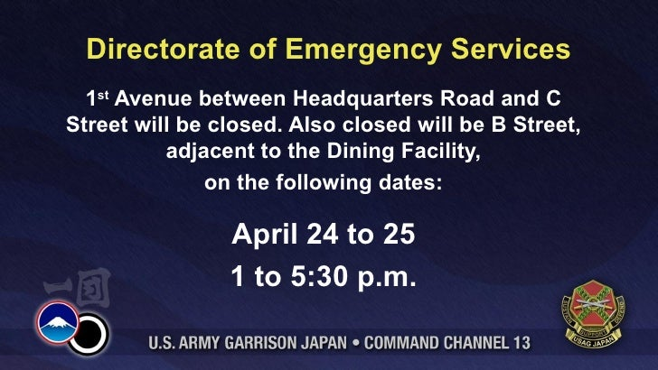 Command Channel Slides April 23 To 29