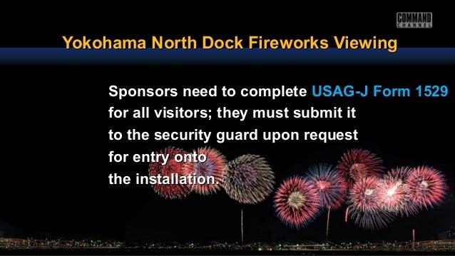 Yokohama North Dock Fireworks ViewingYokohama North Dock Fireworks Viewing Sponsors need to completeSponsors need to compl...
