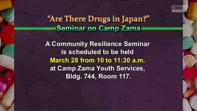 A Community Resilience SeminarA Community Resilience Seminar is scheduled to be heldis scheduled to be held March 28 from ...