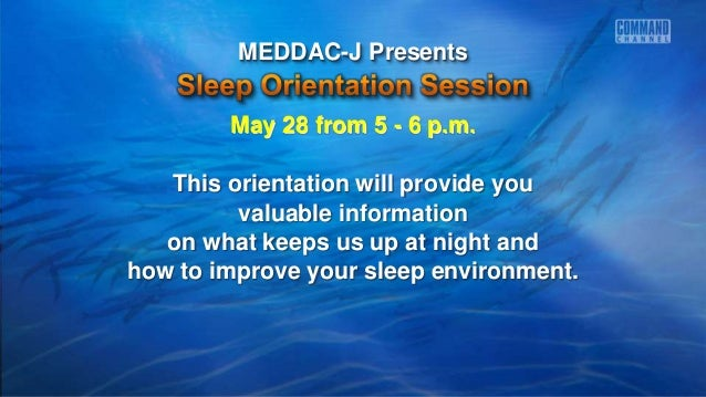 May 28 from 5 - 6 p.m. This orientation will provide you valuable information on what keeps us up at night and how to impr...