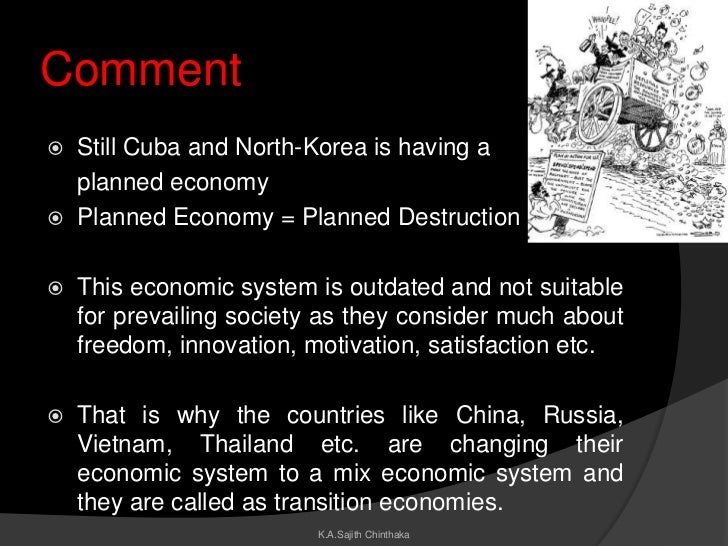 planned economy In this lesson, we will determine what is meant by the term 'centrally planned economy' we'll look at the characteristics and the advantages of.