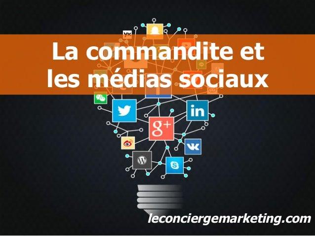 leconciergemarketing.comleconciergemarketing.com La commandite et les médias sociaux leconciergemarketing.com