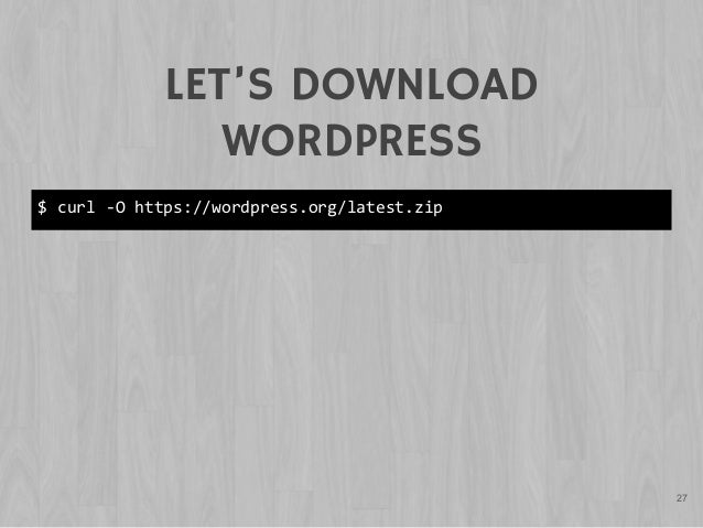 Command Line for Designers - WordCamp NYC
