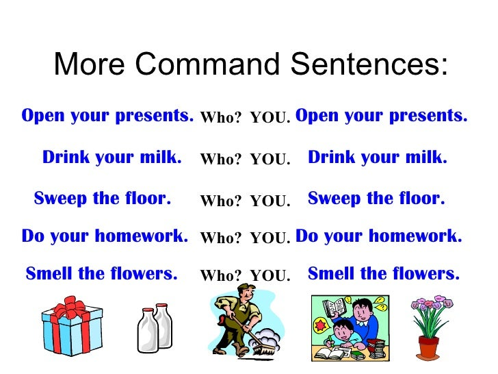 Lesson 3: Commands and Exclamations