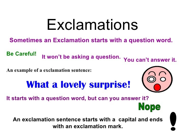 how to write a command sentence